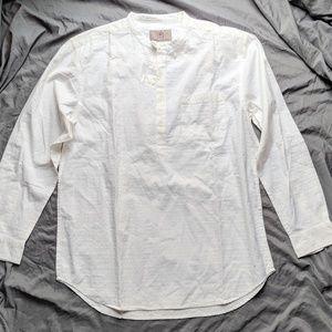 NWT Men's Cotton Long-sleeved Henley Lightweight